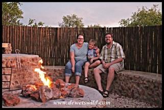 Campfire in Dinokeng
