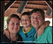 de Wet family at Ithala Game Reserve, December 2014