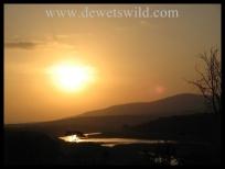 Sunset over Hluhluwe-Imfolozi Park