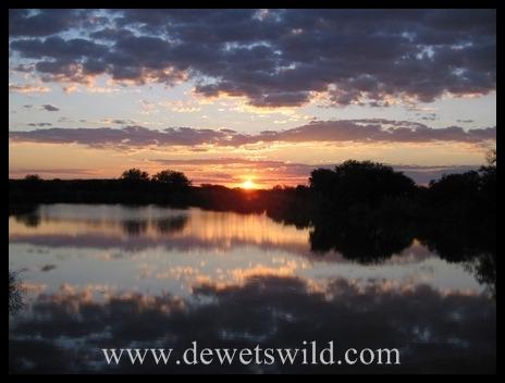 Sunset over Marakele National Park