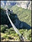 Lake Eland suspension bridge
