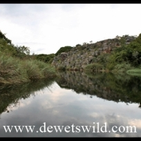 The dam at Blyde Canyon Resort