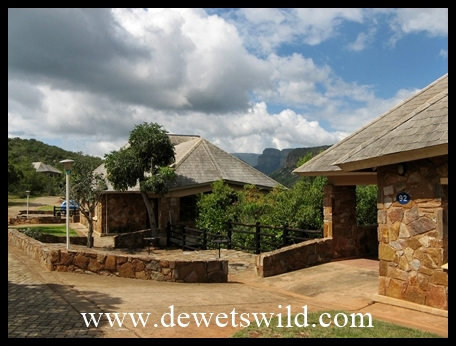 Comfortable chalets at Blyde Canyon