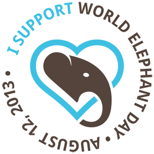 World Elephant Day 2013 logo