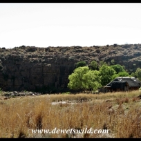 Ezemvelo's hiking huts have a beautiful setting