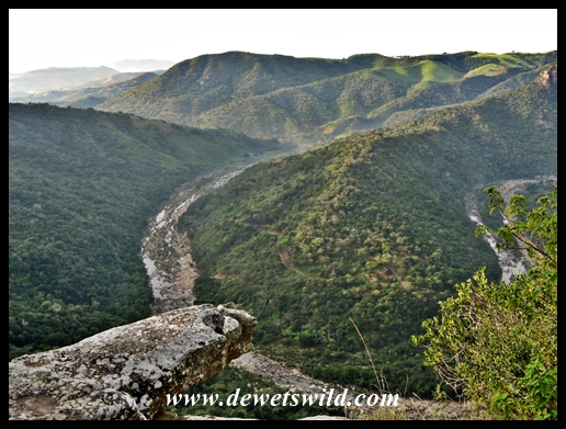 Scenery at Oribi Gorge Hotel