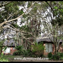 The little rest camp at Oribi Gorge
