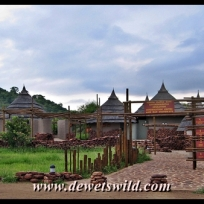 Day visitors facility at Punda Maria Gate