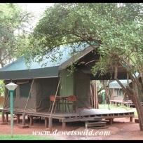 Crocodile Bridge safari tent