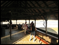 Inside Mankwe Hide