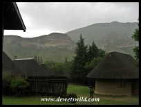 Rainy Golden Gate Highlands National Park
