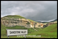 Sandstone Valley viewpoint