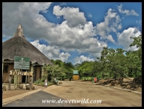 Pafuri Gate, into the Kruger National Park