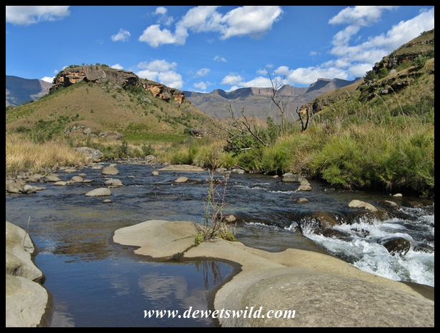 Amazing scenery along the Bushmans River