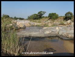 Mlambane spruit crossing