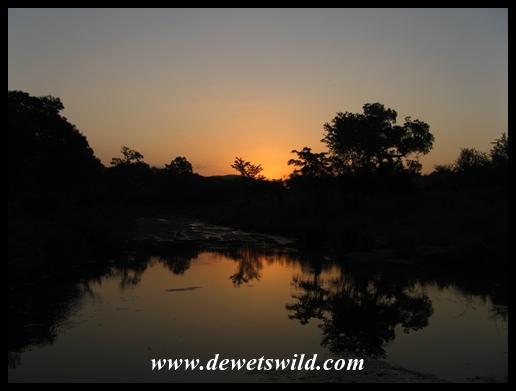 Berg-en-Dal sunset