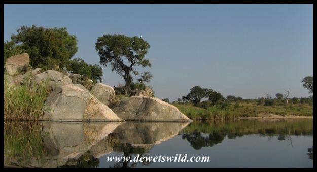 Biyamiti Weir is a beautiful photography spot
