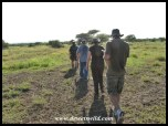 On foot in the Kruger Wilderness