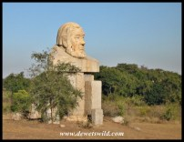 Statue of Paul Kruger at Kruger Gate