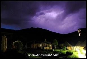 Lighting up the skies over Glen Reenen