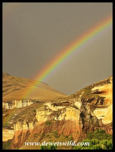 Rainbow over Glen Reenen