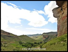 The Mushroom Rocks towering over Glen Reenen