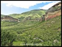 The valley Glen Reenen is located in
