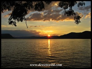 Easter Sunday Sunset over Loskop Dam Nature Reserve