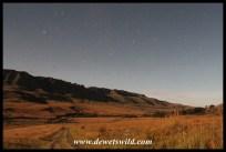Kamberg by moonlight