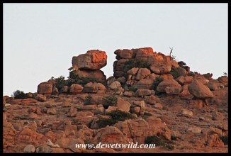 Stack of boulders