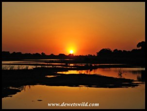 Lower Sabie sunset