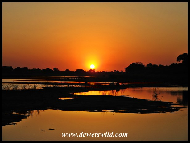 Lower Sabie sunset