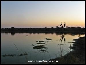 Sunset Dam, at sunset...