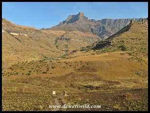 Hiking from Thendele
