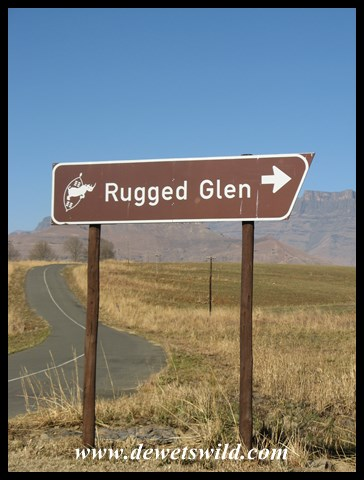 Turnoff to Rugged Glen