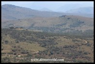 Ngubhu Loop snaking its way through Ithala's hills