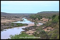 View over the Olifants River back towards the camp