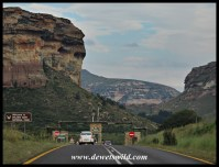 Arriving from Clarens' side