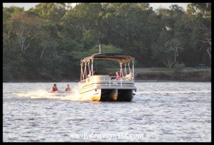 Watersports are popular with Umlalazi's visitors