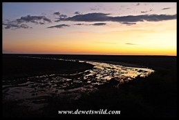 Sunset over the Olifants