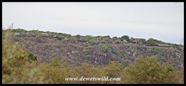 Olifants' clifftop location