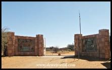 Lilydale entrance to Mokala