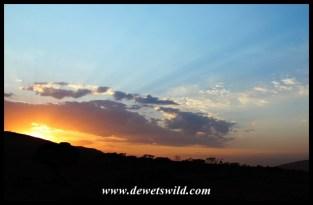 Kgaswane sunrise