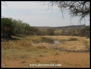 Bollonoto waterhole near Bontle