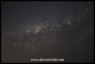 Milky Way above Marakele