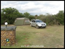 Campsite 8, Lang Elsie's Kraal Rest Camp, Bontebok National Park, December 2017