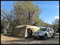 Camping in Karoo National Park, December 2017