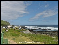 Camping sites at Storms River Mouth