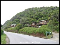 Some of the accommodation units at Storms River Mouth