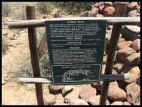 Old predator trap in Karoo National Park's Rest Camp